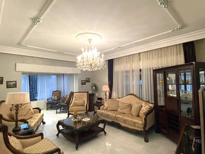 4 Bedroom Flat for Sale in Um Uthaynah, Amman - Ground floor apartment with garden for sale in Um Uthaynah