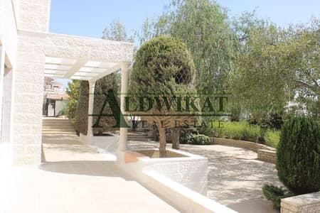 5 Bedroom Villa for Sale in Al Kursi, Amman - Beautiful independent villa for sale in Al Kursi | 1750 SQM