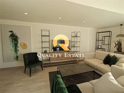 2 Bedroom Flat for Rent in Al Abdali, Amman - A well designed Fully Furnished Studio apartment For rent in Damac Tower | Al Abdali