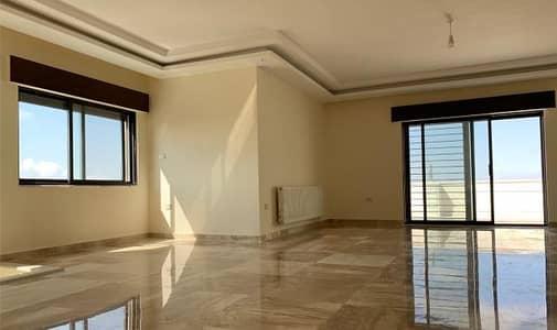 فلیٹ 3 غرف نوم للبيع في الكرسي، عمان - شقة طابق ارضي معلق للبيع في ارقى احياء الكرسي بمساحة 180 متر