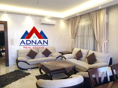 3 Bedroom Flat for Rent in Al Swaifyeh, Amman - Furnished apartment in Al Swaifyeh for rent - 180 SQM