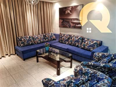 2 Bedroom Flat for Rent in 4th Circle, Amman - A semi-furnished apartment for rent in the 4th Circle | 90 SQM