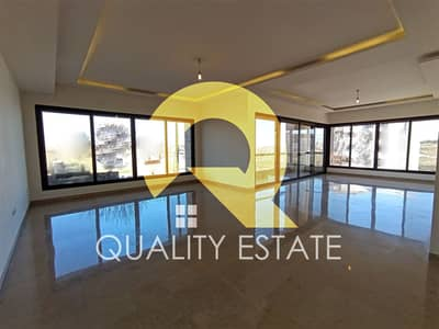 4 Bedroom Flat for Sale in Airport Road, Amman - Hanging ground floor apartment for sale near Airport Road