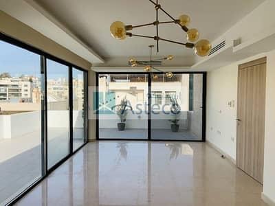 فلیٹ 4 غرف نوم للايجار في عبدون الشمالي، عمان - Modern Roof Duplex Apartment in Abdun 2748