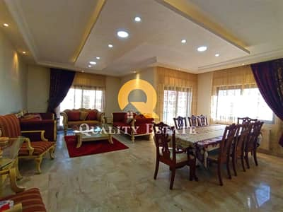 3 Bedroom Flat for Rent in Rabyeh, Amman - A luxurious furnished apartment for rent in Rabyeh