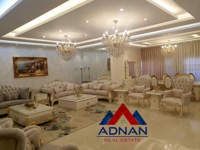 4 Bedroom Flat for Rent in Abdun, Amman - Luxurious furnished apartment | 300 square meters for rent in the most prestigious areas of Abdun
