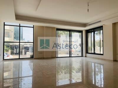 فلیٹ 4 غرف نوم للايجار في عبدون الشمالي، عمان - Modern Garden Duplex Apartment in Abdun 2756