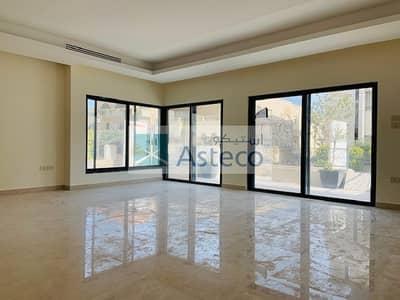 فلیٹ 4 غرف نوم للايجار في عبدون الشمالي، عمان - Modern Garden Duplex Apartment in Abdun 2755