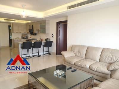فلیٹ 2 غرفة نوم للايجار في عبدون، عمان - شقة مفروشة للإيجار السنوي في عبدون