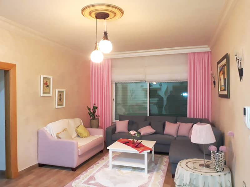 A luxurious furnished apartment in Rabyeh for annual rent