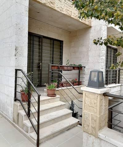 فلیٹ 2 غرفة نوم للايجار في الدوار الرابع، عمان - شقة ارضية مفروشة للإيجار قرب الدوار الرابع