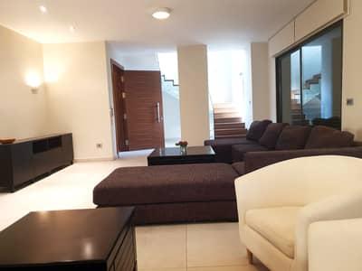 فلیٹ 3 غرف نوم للايجار في الرابية، عمان - شقة مع روف دوبلكس مفروشة فخمة للايجار في الرابية