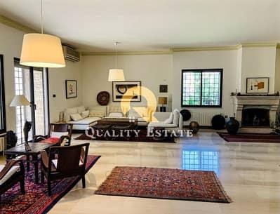 6 Bedroom Villa for Rent in Abdoun Alshamali, Amman - A very distinctive empty villa for rent in the most beautiful areas of Abdoun Alshamali