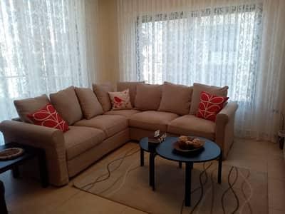 فلیٹ 2 غرفة نوم للايجار في عبدون، عمان - Mid floor Apartment for rent in Abdun