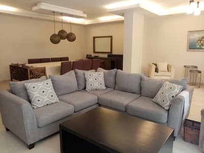 3 Bedroom Flat for Rent in 5th Circle, Amman - Garden Apartment for rent in 5th Circle  | 200 SQM