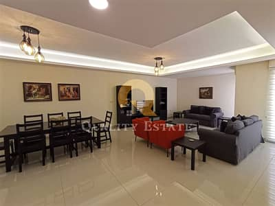 فلیٹ 3 غرف نوم للبيع في عبدون، عمان - شقة مفروشة للأيجار في عبدون | 150م2
