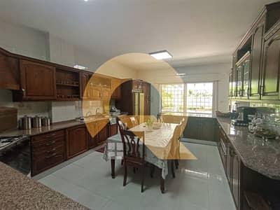 4 Bedroom Flat for Rent in Khalda, Amman - Ground floor of a luxurious unfurnished villa for rent | Khalda