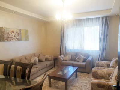 3 Bedroom Flat for Rent in Shmeisani, Amman - Furnished apartment in Shmeisani for rent | 3 BR