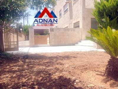 فلیٹ 5 غرف نوم للايجار في عبدون، عمان - عبدون شقة أرضية دوبلكس مع حديقة ومسبح خاص للإيجار