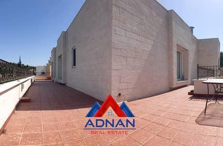 فلیٹ 3 غرف نوم للايجار في دابوق، عمان - للإيجار روف فخم مفروش بالكامل في دابوق