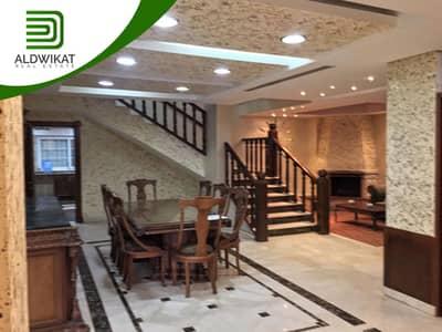 فیلا 10 غرف نوم للايجار في الجبيهة، عمان - فيلا شبه قصر للايجار في اجمل مناطق الجبيهة   1300 م2