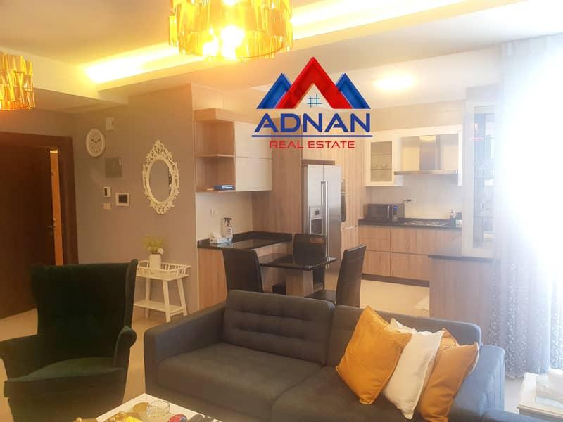للإيجار شقة مفروشة فخمة في عبدون | 2 نوم
