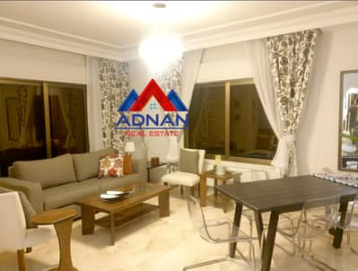 3 Bedroom Flat for Rent in Jabel Al Webdeh, Amman - Luxuriously furnished apartment for annual rent in Jabel Al Webdeh