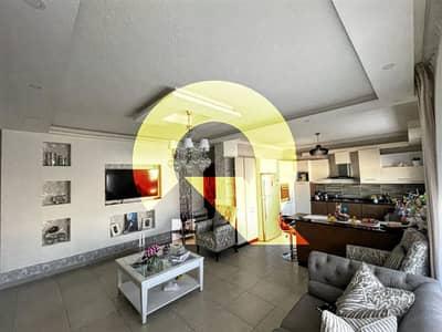 2 Bedroom Flat for Sale in Fuheis, Al Salt - Semi-ground apartment for sale in Fuheis