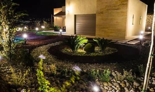 2 Bedroom Villa for Sale in Jerash - فيلا مستقلة مفروشة للبيع تنظيم سكن (ب) ضمن كامباوند في اجمل مناطق جرش