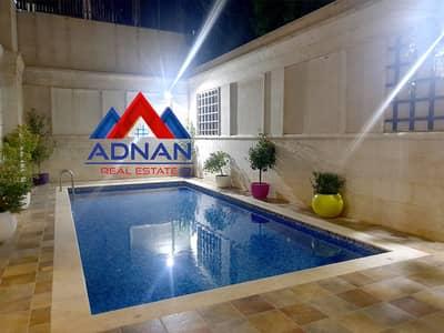 فلیٹ 4 غرف نوم للايجار في الدوار الثالث، عمان - شقة للايجار 400 متر مع مسبح وجيم مشترك قرب الدوار الثالث