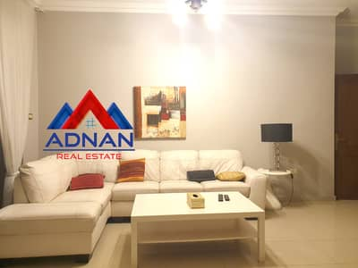 1 Bedroom Flat for Rent in Abdun, Amman - Luxury Furnished Studio For Rent In Abdoun with swimming Pool