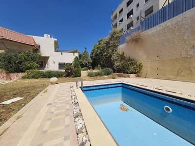 فیلا 5 غرف نوم للبيع في خلدا، عمان - فيلا مستقلة مع حديقة ومسبح للبيع في خلدا، مساحة أرض 1750 م