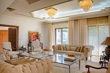 8 Bedroom Villa for Sale in Abdun, Amman - فيلا مستقلة مع مسبح وترسات للبيع في أجمل أحياء عمان - عبدون، مساحة بناء 1500 م