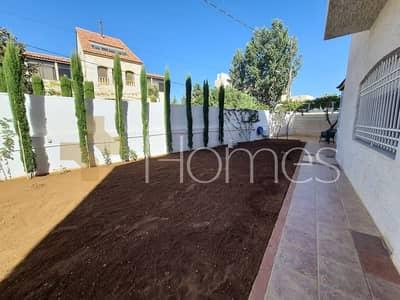 7 Bedroom Villa for Sale in Rabyeh, Amman - فيلا مستقلة مفروشة مع حديقة وترس للبيع في الرابية، مساحة ارض 1020 م