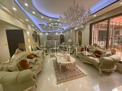 4 Bedroom Villa for Rent in Khalda, Amman - فيلا متلاصقة مفروشة مع مساحة خارجية للايجار في خلدا، مساحة ارض 465 م