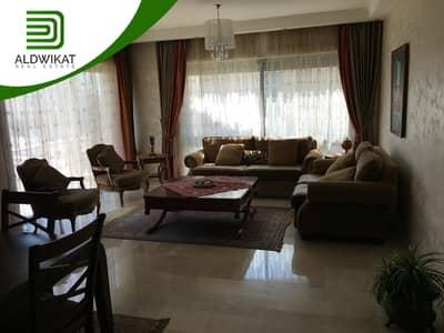 فلیٹ 3 غرف نوم للايجار في الرابية، عمان - شقة مفروشة للايجار في الرابية طابق اول ارقى الاحياء مساحة البناء 199 م
