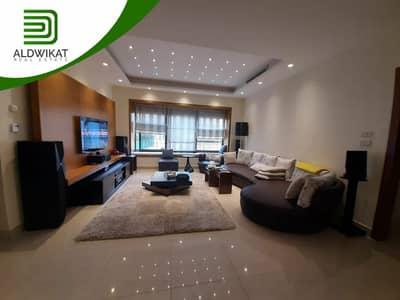 فلیٹ 4 غرف نوم للايجار في عبدون، عمان - شقة مفروشة للايجار في عبدون فاخرة طابق ارضي مساحة البناء 350 م مساحة الحديقة 60 م