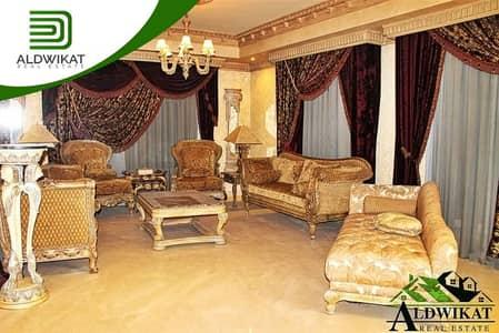 فیلا 4 غرف نوم للايجار في ضاحية الرشيد، عمان - فيلا مميزة مستقلة للايجار في ضاحية الرشيد مساحة الفيلا 1100 م مساحة الارض 1100 م