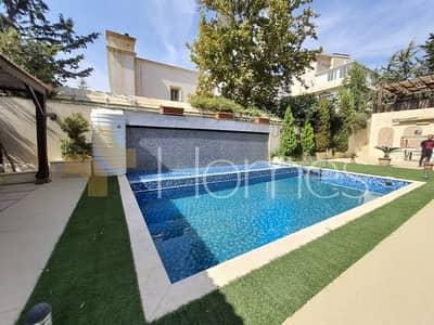 5 Bedroom Villa for Sale in Abdun, Amman - شبه قصر مع حديقة ومسبح للبيع في عبدون، مساحة ارض 1000 م