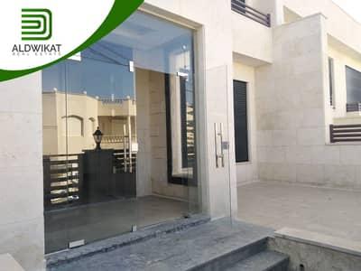 4 Bedroom Villa for Rent in Dabouq, Amman - فيلا للايجار في دابوق الحمارية متلاصقة مساحة البناء 430 م مساحة الارض 300 م