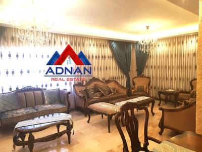 4 Bedroom Flat for Sale in Rabyeh, Amman - للبيع شقة طابقية مفروشة مميزة 4 نوم في الرابية