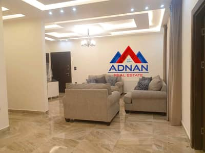 3 Bedroom Flat for Sale in Dair Ghbar, Amman - Luxury Ground Floor Fully Furnished For Rent, In Dair Ghbar, 3 bedroom with private parking, yearly 13,000 JD
