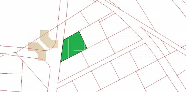 Residential Land for Sale in Abdun, Amman - ارض سكنية تصلح لبناء اسكان مع منسوب للبيع في عمان - عبدون بمساحة 770 م