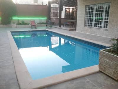 4 Bedroom Villa for Rent in Rabyeh, Amman - فيلا مفروشه مع مسبح للإيجار