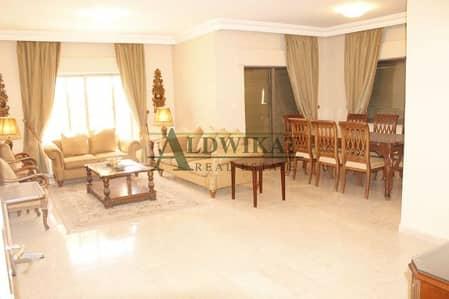 3 Bedroom Flat for Rent in 5th Circle, Amman - شقة مفروشة للايجار في الدوار الخامس